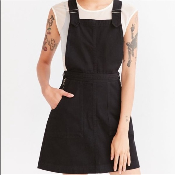 Urban Outfitters Cooperative Overall Dress Denim